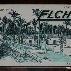 Postales: BLOK Nº 1. BLOCK POSTAL ELCHE. ED. L. ROISIN. BLOCK CON 20 POSTALES. COMPLETO.. Lote 120883975