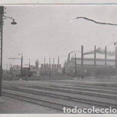 Postales: FOTOGRAFIA 6,50 X 10 CM 1944. SAGUNTO VALENCIA ALTOS HORNOS. . Lote 121141763