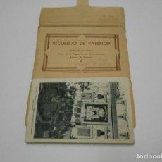 Postales: RECUERDO DE VALENCIA - CARPETA DESPLEGABLE COMPLETA - AÑO DE LA VICTORIA. Lote 121842047