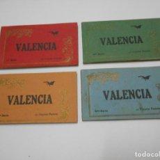 Postales: VALENCIA - SERIES 1 2 3 Y 4 COMPLETAS. Lote 121842207