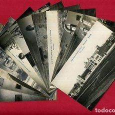 Postales: LOTE COLECCION 12 POSTALES ASILO SAN JUAN DE DIOS, VALENCIA , FOTOGRAFICAS, ORIGINALES , A. Lote 121887667