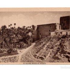 Postales: ELCHE (ALICANTE).- PALACIO DEL ALTAMIRA. Lote 121951903