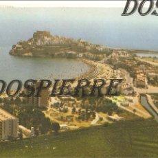 Postales: POSTAL, PEÑÍSCOLA, VISTA AÉREA, CIRCULADA. Lote 122030543