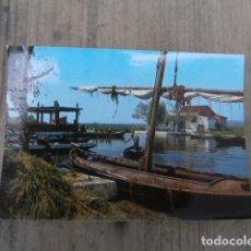 Postales: POSTAL VALENCIA, EMBARCADERO DE EL SALER. Lote 122415295