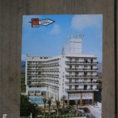 Postales: POSTAL GANDIA, HOTEL SAFARI. Lote 123642119