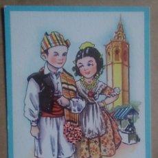 Postales: POSTAL VALENCIA HUERTANOS DE VUELTA AL MIGUELET TRAJE REGIONAL EDICIONES CMB SERIE 94. Lote 124213942
