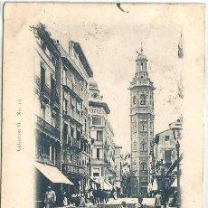 Postales: POSTAL VALENCIA TORRE DE SANTA CATARINA COLECCION O N° 16 SIN DIVIDIR 1903. Lote 124293567