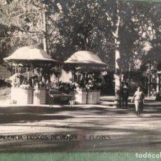 Postales: VALENCIA - KIOSCOS DE VENTA DE FLORES - 17 -CIRCULADA 1925. Lote 124446631