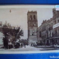 Postales: (PS-57107)POSTAL FOTOGRAFICA DE VINAROZ-CALLE PI Y MARGALL. Lote 125077939