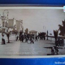 Postales: (PS-57108)POSTAL FOTOGRAFICA DE VINAROZ-PASEO DE BLASCO IBAÑEZ. Lote 125078059