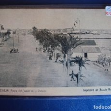 Postales: (PS-57109)POSTAL DE TORREVIEJA-PASEO DEL DUQUE DE LA VICTORIA.IMPRENTA DE ACACIO REBAGLIATO. Lote 125078327