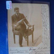 Postales: (PS-57134)POSTAL FOTOGRAFICA DE VALENCIA-PERSONAJE.ARCHIVO BARONES OLLER. Lote 125082479
