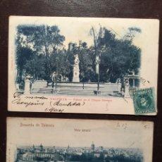 Postales: VALENCIA. 2 VISTAS COLECCIÓN O. Lote 125083402