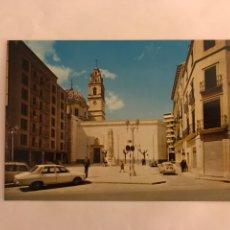 Postales: CARCAGENTE (VALENCIA) POSTAL NO.625 PLAZA DEL CAUDILLO. EDITA POSTALES DURA (H.1960). Lote 125099516