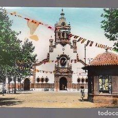 Postales: PUERTO DE SAGUNTO (VALENCIA).- IGLESIA PARROQUIAL DE NTRA. SRA. DE BEGOÑA. Lote 125223175