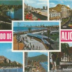 Postales: ALICANTE, DIVERSOS ASPECTOS - COMERCIAL VIPA BEASCOA 6907 - S/C. Lote 125407843