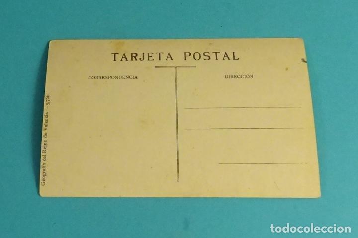 Postales: POSTAL Nº 5 AYORA - PLAZA MAYOR. GEOGRAFÍA DEL REINO DE VALENCIA 5.766 - Foto 2 - 125936239
