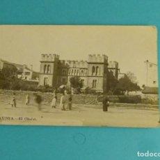 Postales: POSTAL AYORA - EL CHALET. UNION POSTALE UNIVERSELLE. Lote 125936403