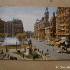 Postales: POSTAL VALENCIA,PLAZA DEL CAUDILLO. Lote 126024191