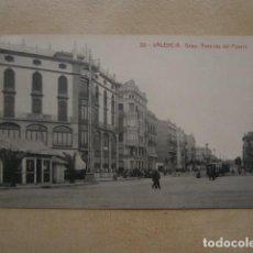 Postales: POSTAL VALENCIA, GRAO.AVENIDA DEL PUERTO. Lote 126025451