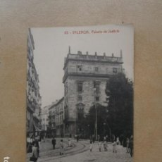 Postales: POSTAL VALENCIA, PALACIO DE JUSTICIA. Lote 126025987
