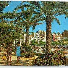 Postales: POSTAL. BENIDORM. PARQUE DE COLÓN. HERMANOS GALIANA. SIN CIRCULAR.. Lote 126035003