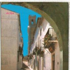 Postales: ALTEA ALICANTE ESCRITA. Lote 126054759