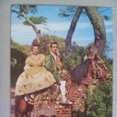 Postales: POSTAL DE VALENCIA : TIPOS REGIONALES , Nº 42 . AÑOS 60. Lote 126074671