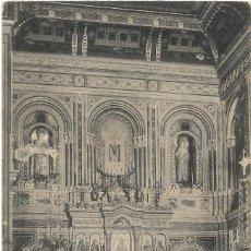 Cartoline: VALENCIA Nº 151 CASA DE BENEFICIENCIA , ALTAR MAYOR .- FOTOTIPIA THOMAS . Lote 126104171