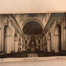 Postales: SEGORBE. POSTAL INTERIOR DE LA CATEDRAL. EDITA. EDICIONES SUAY (H.1950?). Lote 126741092