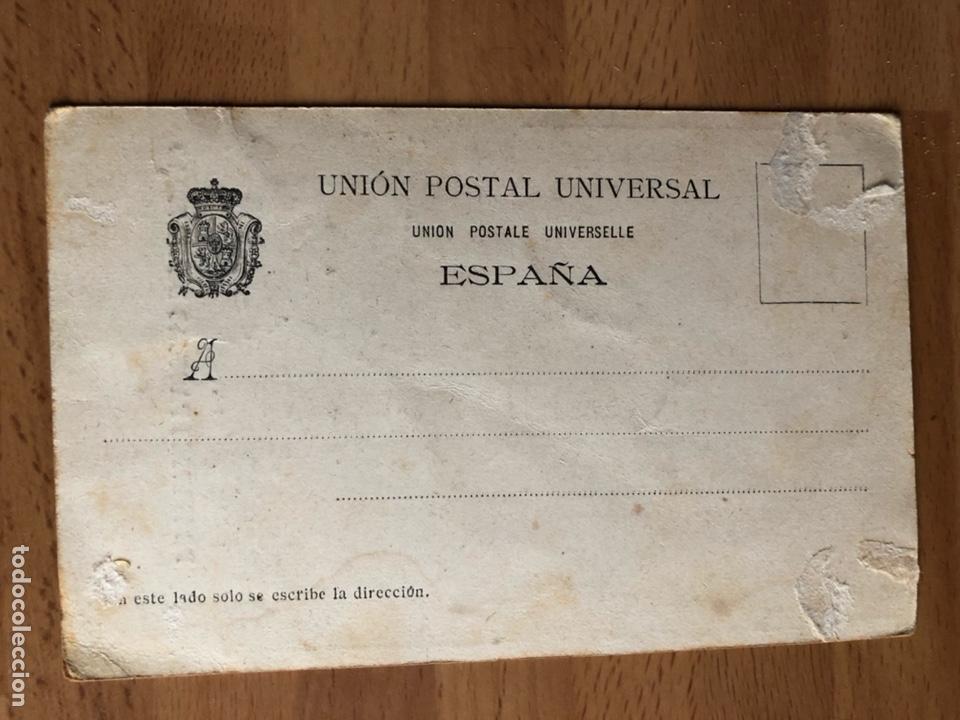 Postales: Antigua postal la correspondencia de valencia.diario de noticias 1903.el repartidor - Foto 2 - 126783570
