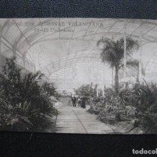 Postales: EXPOSICION REGIONAL VALENCIANA. 1909. EL UMBRACULO. Lote 126870839
