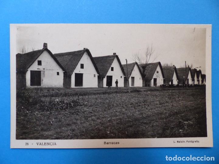 VALENCIA - BARRACAS, POSTAL FOTOGRAFICA - ROISIN (Postales - España - Comunidad Valenciana Antigua (hasta 1939))
