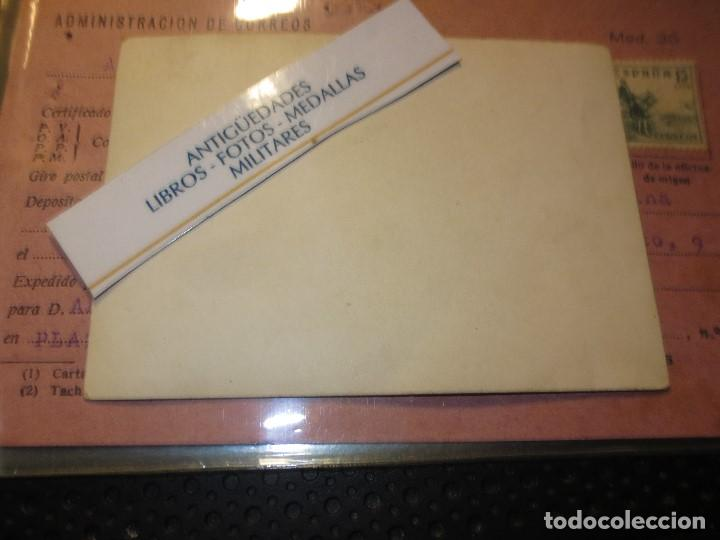 Postales: RARA POSTAL ALICANTE ANTIGUA ADMINISTRACION CORREOS MOD,. 35 CUÑO Y SELLO - Foto 3 - 127242403