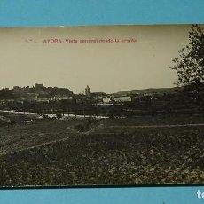 Postales: POSTAL Nº 1 AYORA. VISTA GENERAL DESDE LA ERMITA. GEOGRAFÍA DEL REINO DE VALENCIA - 5772. Lote 127672171