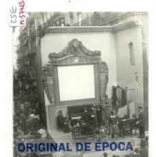 Postales: (PS-57425)POSTAL FOTOGRAFICA DE VALENCIA-FALLAS.CALLE DE D.JUAN DE AUSTRIA. Lote 127760735