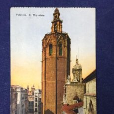 Postales: POSTAL ANTIGUA VALENCIA MIGUELETE 8 JOSÉ DURÁ PÉREZ NO ESCRITA NI CIRCULADA. Lote 127817383