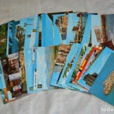 Postales: LOTE DE 75 POSTALES SIN CIRCULAR - COMUNIDAD VALENCIANA, CASTELLON, VALENCIA, ALICANTE - ENVÍO 24H. Lote 128231439