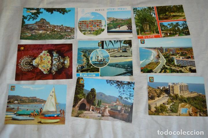 Postales: LOTE DE 75 POSTALES SIN CIRCULAR - COMUNIDAD VALENCIANA, CASTELLON, VALENCIA, ALICANTE - ENVÍO 24H - Foto 5 - 128231439