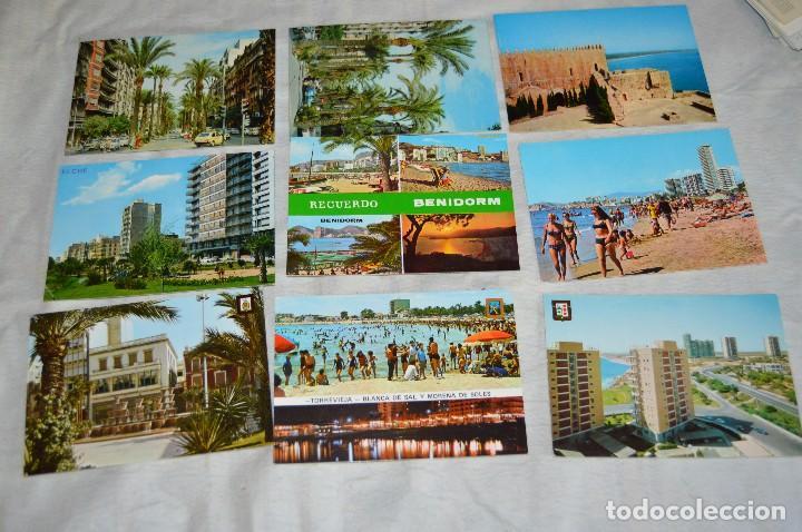 Postales: LOTE DE 75 POSTALES SIN CIRCULAR - COMUNIDAD VALENCIANA, CASTELLON, VALENCIA, ALICANTE - ENVÍO 24H - Foto 7 - 128231439