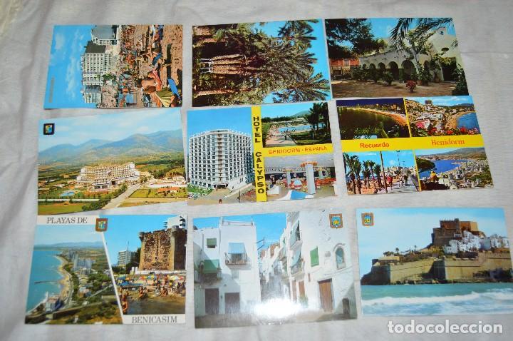 Postales: LOTE DE 75 POSTALES SIN CIRCULAR - COMUNIDAD VALENCIANA, CASTELLON, VALENCIA, ALICANTE - ENVÍO 24H - Foto 8 - 128231439