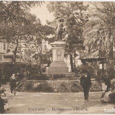 Postales: VALENCIA, MONUMENTO A RIBERA - JDP VALENCIA - SIN CIRCULAR. Lote 128553991
