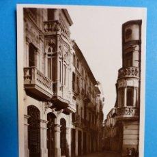 Postales: ALCIRA, VALENCIA - CALLE MAYOR - POSTAL FOTOGRAFICA. Lote 128556127