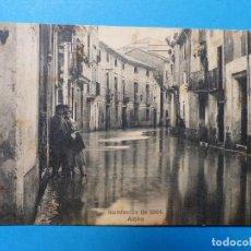 Postales: ALCIRA, VALENCIA - INUNDACION DE 1904. Lote 128563511