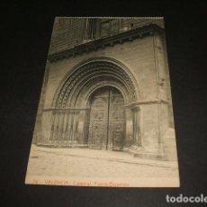 Postales: VALENCIA CATEDRAL PUERTA BIZANTINA. Lote 128600443