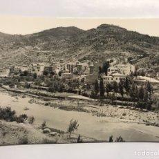 Postales: MONTANEJOS (CASTELLÓN) POSTAL. VISTA GENERAL. EDITA: FOTO GÓMEZ. SEGORBE (H.1960?). Lote 128632919