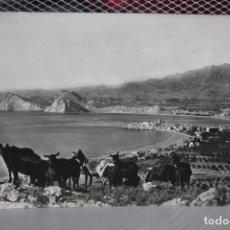 Postales: POSTAL CURSADA VISTA PANORÁMICA DE BENIDORM. 1957. INF.. Lote 128670607