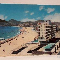 Postais: POSTAL Nº 34 BENIDORM ALICANTE VISTA DE LA CALA HOTEL GLASOR, FOT HNOS. GALIANA. SIN USO.. Lote 261128705