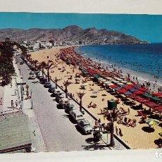 Cartes Postales: POSTAL Nº 40 BENIDORM ALICANTE PLAYA DE LEVANTE FOT HNOS. GALIANA, SIN USO.. Lote 128840223