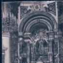 Postales: POSTAL VALENCIA 129 - REAL BASILICA DE LA VIRGEN DE LOS DESAMPARADOS - ALTAR MAYOR - JDP. Lote 128970955